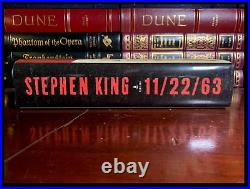 11/22/63 SIGNED by STEPHEN KING Mint JFK Hardback 1st Edition First Printing