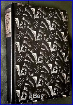 1930 FLAT SIGNED LYND WARD Mad Man's Drum FIRST EDITION, 2ND PTG WOODCUT NOVEL