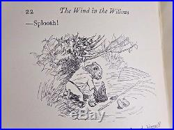 1931 Wind in the Willows + SIGNED LETTER FROM KENNETH GRAHAME First Edition