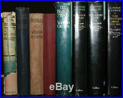 1945 Ross Poldark Novels of Cornwall 6 SIGNED W GRAHAM First Edition 13 Volumes
