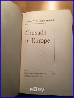 1948 Limited signed First Edition #417 CRUSADE IN EUROPE -Dwight D. Eisenhower