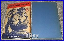 1948 Signed Shasta First Edition of Who Goes There by John W. Campbell Jr