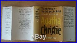 1960 Agatha Christie CHRISTMAS PUDDING, SIGNED INSCRIBED FIRST EDITION 1st print