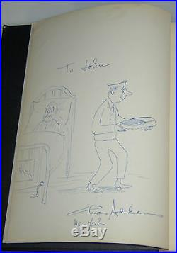1960 BLACK MARIA CHARLES ADDAMS FAMILY SIGNED FIRST EDITION WithFULL PAGE DRAWING