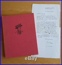 1965 PL Travers Autograph Letter and 1963 Signed First Edition A-Z Poppins