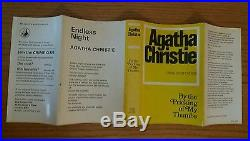 1968 Agatha Christie BY THE PRICKING OF MY THUMBS Signed first edition 1st print