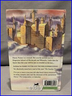 1998 Signed 1st Edition 2nd Print UK Harry Potter and the Chamber of Secrets HC