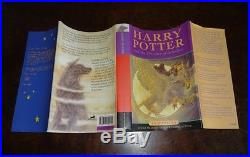 1st Edition Harry Potter The Prisoner Of Azkaban, Extremely Rare First State