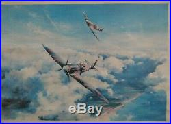 1st Edition Spitfire Print By Robert Taylor