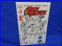 2005 Marvel Young Avengers 1 Wizard World LA Variant 1st Kate Bishop Rare Signed