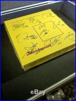 2017 TWICE All Member Signed Twicetagram Yellow Version 1st Album Autographed