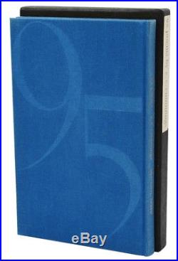95 Poems E. E. CUMMINGS Signed Limited First Edition 1st 1958 EE Ninety Five