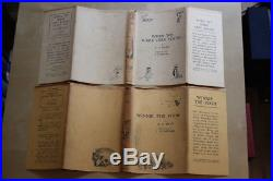 A. A. Milne (1924-28)'Winnie-the-Pooh', first edition set with signed letter