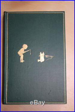A. A. Milne (1926-28)'Winnie-the-Pooh', first edition set with signed letter