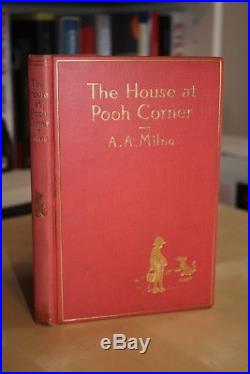 A. A. Milne (1928)'The House at Pooh Corner', US signed first limited edition