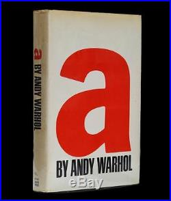 A A Novel by Andy Warhol, Signed First Edition