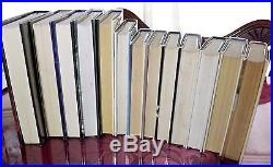 A Complete Set Of Inspector Morse Uk Signed First Edition Hb Books Colin Dexter