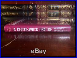 A Clockwork Orange SIGNED by ANTHONY BURGESS Mint Anniversary Edition 1st Print