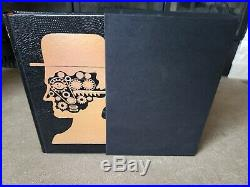 A Clockwork Orange SIGNED by Anthony Burgess Easton Press 1st Edition RARE