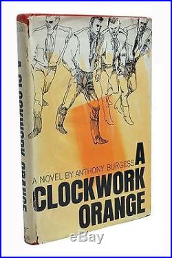 A Clockwork Orange Signed Anthony Burgess First Edition US Rare 1st Printing