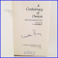 A Confederacy Of Dunces First Edition/1st Print SIGNED John Kennedy Toole