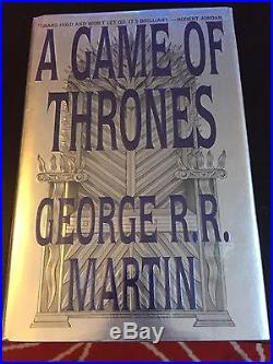 A Game Of Thrones 1/1 US HB First 1st Edition. Signed Bookplate