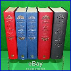 A Game Of Thrones by George RR Martin U. K. 1st First Edition Book Set Near Fine