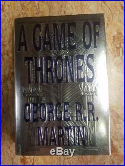 A Game of Thrones First Edition/ First Printing, First State DJ, Signed