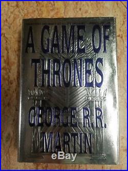 A Game of Thrones George R R Martin Hard Cover First Edition First Printing 1996