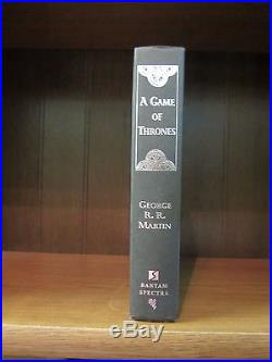 A Game of Thrones by George R. R. Martin (1996 Signed First Edition)
