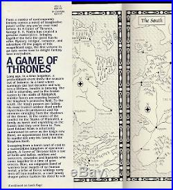A Game of Thrones by George R. R. Martin (1996HardcoverDJFirst Edition)