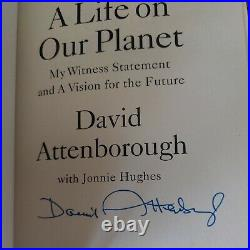 A Life on Our Planet Sir David Attenborough Signed First Edition