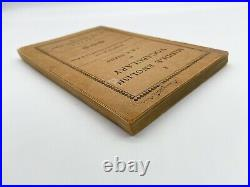 A Middle English Vocabulary 1ST EDITION TOLKIEN 1922 Hobbit Lord of the Rings