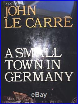 A Small Town In Germany By John Le Carre Signedfirst Edition