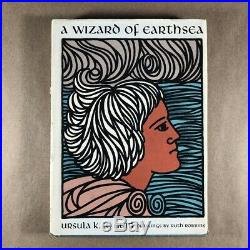 A Wizard of Earthsea, Ursula K. Le Guin (First Edition, Early Printing, Signed)