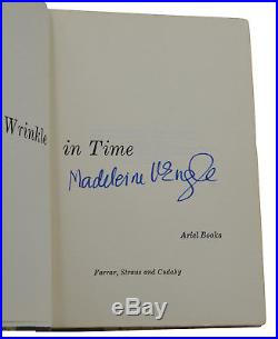 A Wrinkle in Time MADELEINE L'ENGLE Signed First Edition 1962 1st Printing