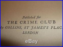 Agatha Christie Mcginty's Dead, 1952 First Edition Signed