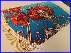 AJ Masthay Bertha Grateful Dead Art Print S/N xx/300 First Edition Official LE