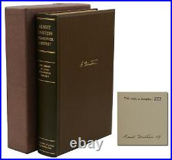 ALBERT EINSTEIN Philosopher Scientist Signed Limited First Edition 1st 1949