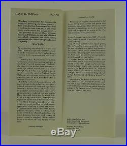 ALLEN GINSBERG White Shroud Poems 1980-1985 INSCRIBED FIRST EDITION
