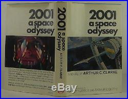 ARTHUR C. CLARKE 2001 A Space Odyssey SIGNED FIRST EDITION