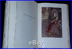 ARTHUR RACKHAM Fairy Book Signed, first, limited edition, in slip-case, 1933