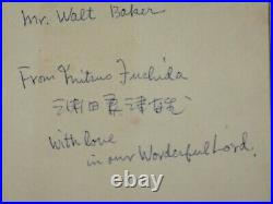 ATTACK LEADER MITSUO FUCHIDA SIGNED FROM PEARL HARBOR TO GOLGOTHA 1st EDITION