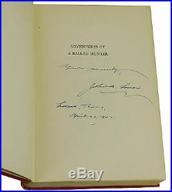 Adventures of a Ballad Hunter by JOHN A. LOMAX SIGNED First Edition 1947 1st