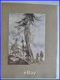 Aesop's Fables Arthur Rackham Signed Deluxe First Edition