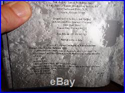 Alan Shepard Signed-Book Moon Shot First-Edition Third-Printing Apollo-14 NASA