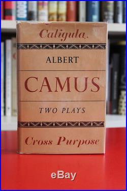 Albert Camus (1947)'Caligula and Cross Purpose', SIGNED first edition, Nobel