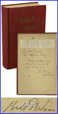 Alcoholics Anonymous SIGNED 1st Edition / 1st Printing