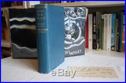 Aldous Huxley,'Brave New World', UK first edition 1st/1st, signed ephemera
