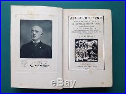 All About Dogs by Charles Henry Lane First edition 1900 signed